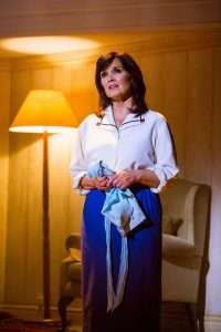 Maureen Nolan as Vi Moore in Footloose. Photo Credit Matt Martin