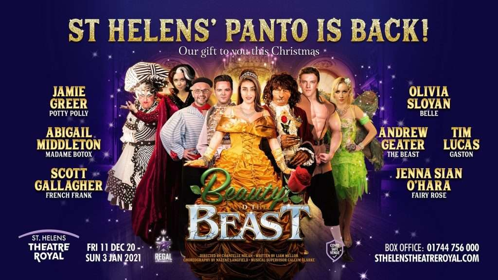 St Helens Beauty And The Beast Dec 2020